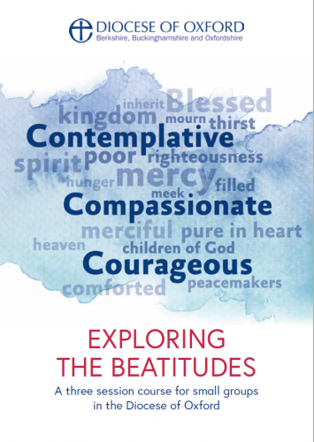 Exploring the Beatitudes booklet cover